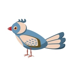 Bird icon cartoon style vector