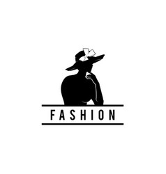 Fashion women logo vector