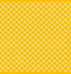 geometric yellow square pattern background vector image