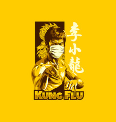 Kung flu vector
