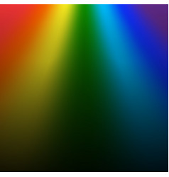 Rainbow gradient background mesh vector
