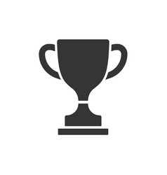 trophy icon images vector image