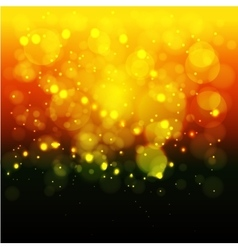 Bright lights backgroundChristmas Blurred bokeh vector image vector image