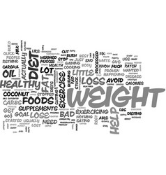 what to do when you just can t lose weight text vector image