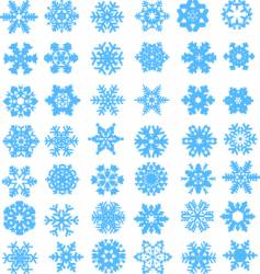 Snow design vector