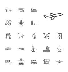22 passenger icons vector
