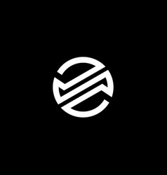 Initial letter s logo template with modern rounded vector