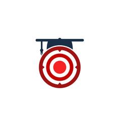 School target logo icon design vector