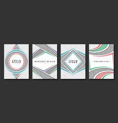 set book covers vector image
