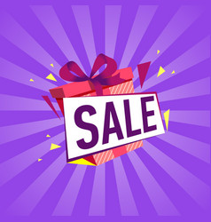 Special offer sale proposition vector