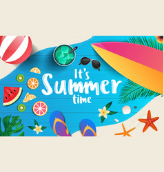 summer background design 2019 4 vector image