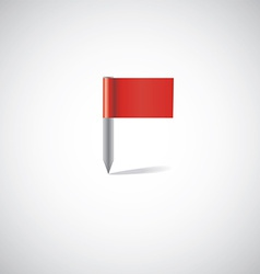 flag pin vector image