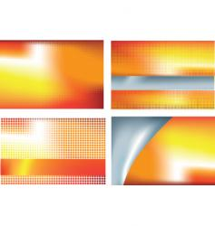 abstract set vector image vector image