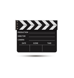 film movie video icon production background vector image vector image