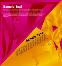 modern abstract vector image vector image