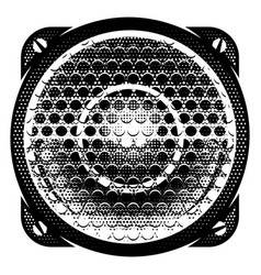 stylish monochrome detailed with vector image vector image