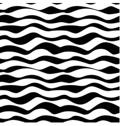 Black graphic waves background seamless vector