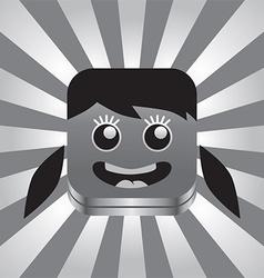 Cartoon head vector