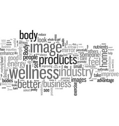 Improve the body image of your business vector