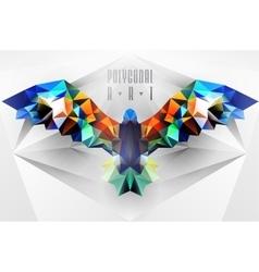 Ladybird polygonal vector