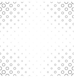 Monochromatic circle pattern - geometric vector