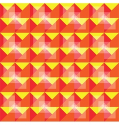 Retro seamless warm pattern vector
