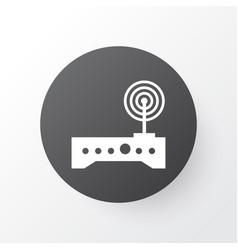 wifi modem icon symbol premium quality isolated vector image