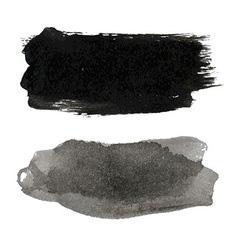 Black Blots Set vector image vector image