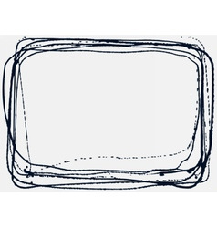 Abstract Grunge Frame vector image