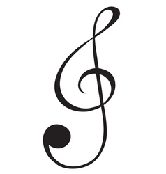 A G-clef sign vector