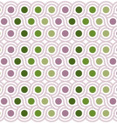 circle background pattern vector image