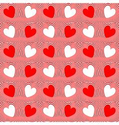Design seamless twirl movement stripy pattern vector