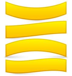 Golden bars plaques vector