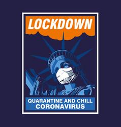Liberty lockdown vector
