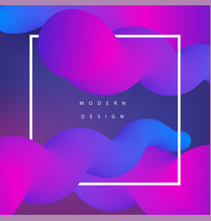 Moden colorfull background vector