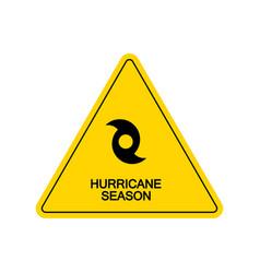 Tornado hurricane florence coming from ocean vector