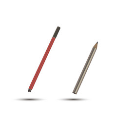 icon pen writing pencil tools design isolated old vector image