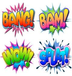 comic book vector image