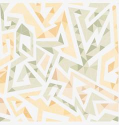 white maze seamless pattern vector image