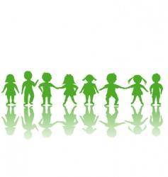 children border vector image vector image