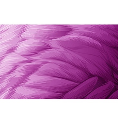 A soft feathered texture vector