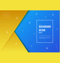 Abstract gradient background with modern vector