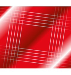 Abstract stripes square on red background vector