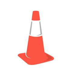 Cone road logo design simple minimalist modern vector