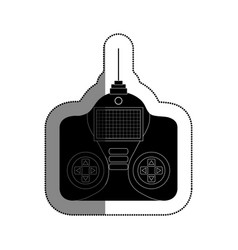 drone remote control isolated icon vector image