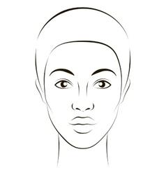 Girl fashion vector image