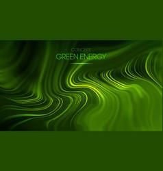 Green energy concept technology vector