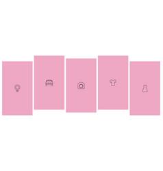 Instagram highlights vector