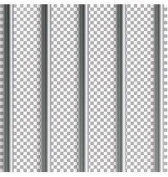jail bars isolated on vector image