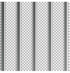 Jail bars isolated on vector
